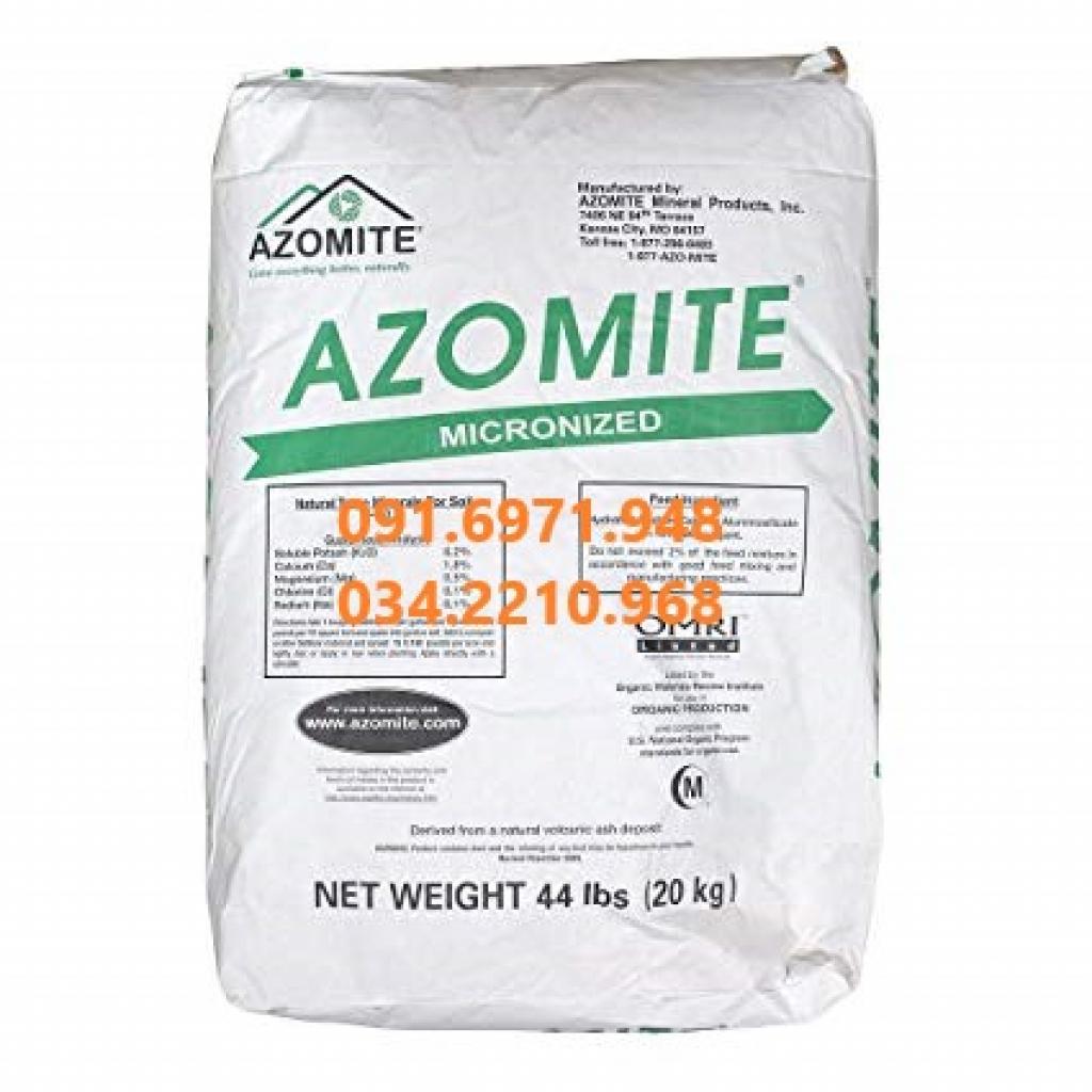 Nơi mua bán khoáng tạt AZOMITE nguyên liệu Mỹ cho tôm cá uy tín, giá tốt